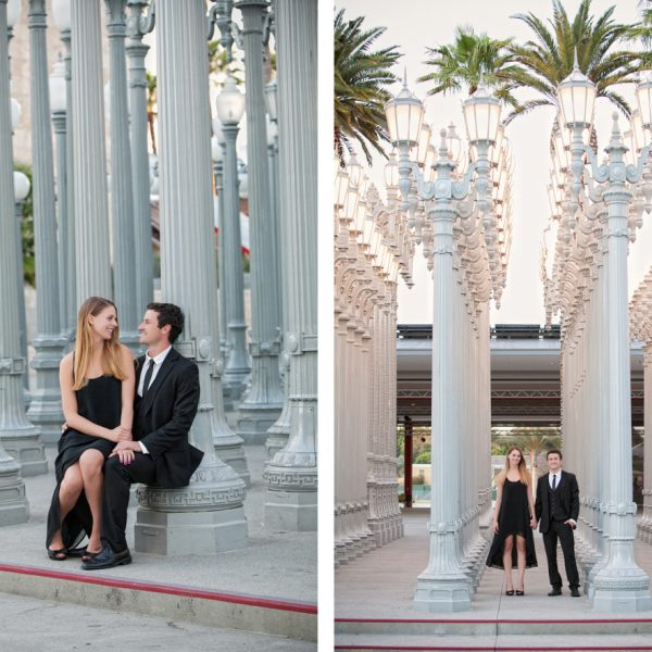 LA Engagement Session - Christina & Geoff