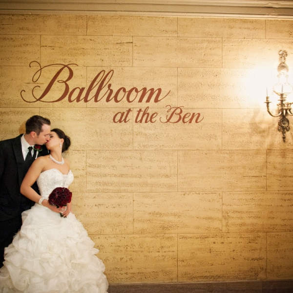 Ballroom at the Ben Philadelphia Wedding  - Amanda & Dave - Part II