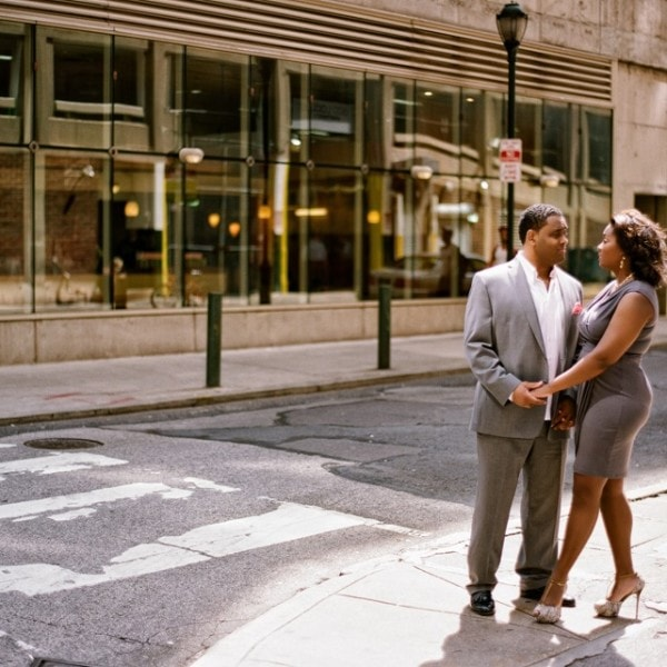 Philadelphia Engagement Photos - Adrienne & Joel