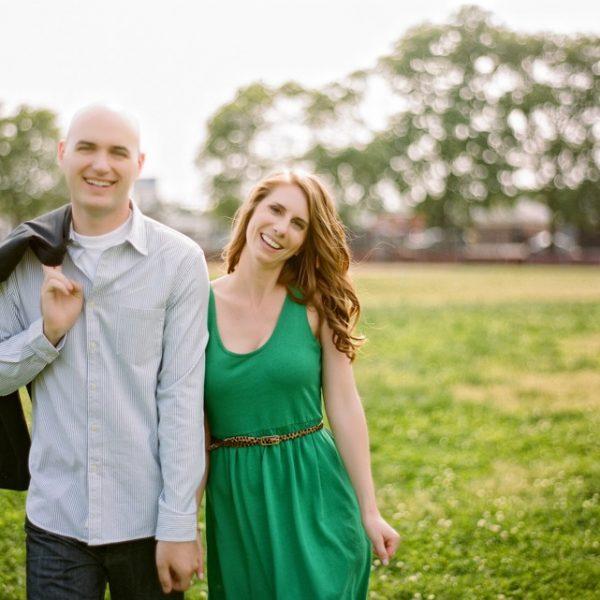 Philadelphia Engagement Session of Stasia & Evan