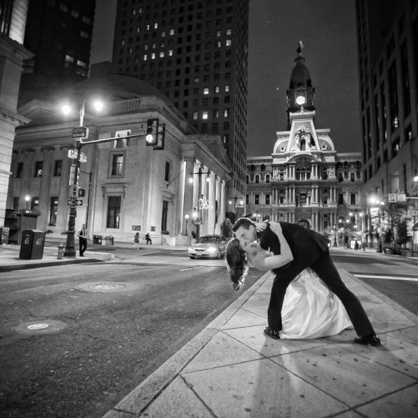 Crystal Tea Room Wedding in Philadelphia of Elana & Spencer