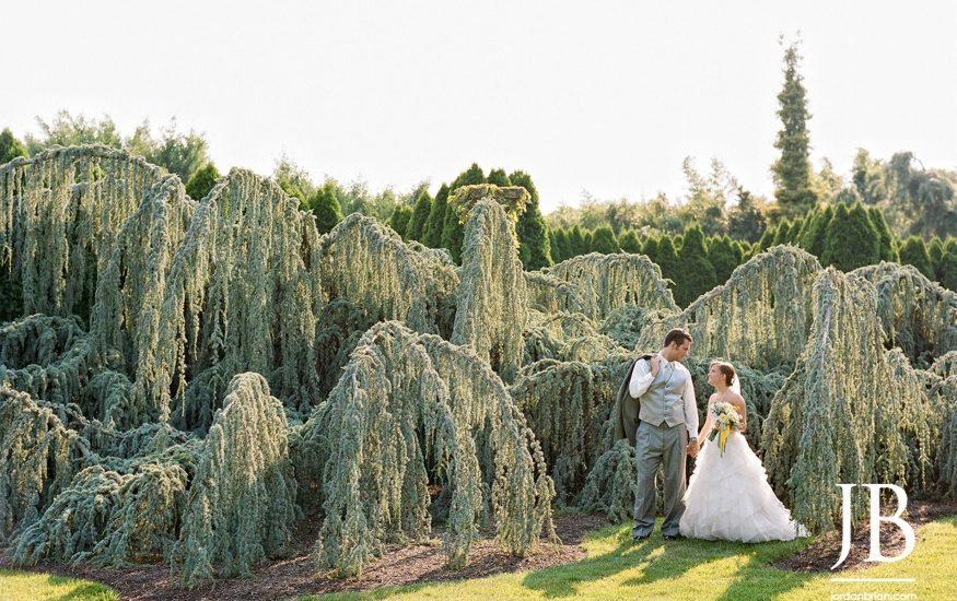 Summer Grounds For Sculpture Wedding In Hamilton Nj