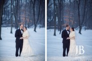 Tappan Hill Mansion Winter Wedding