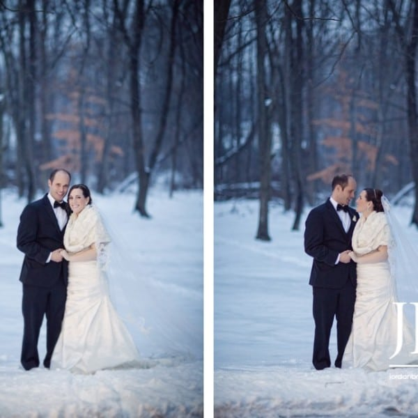 Winter Wonderland Tappan Hill Mansion Wedding - Katie & Jon - Part II