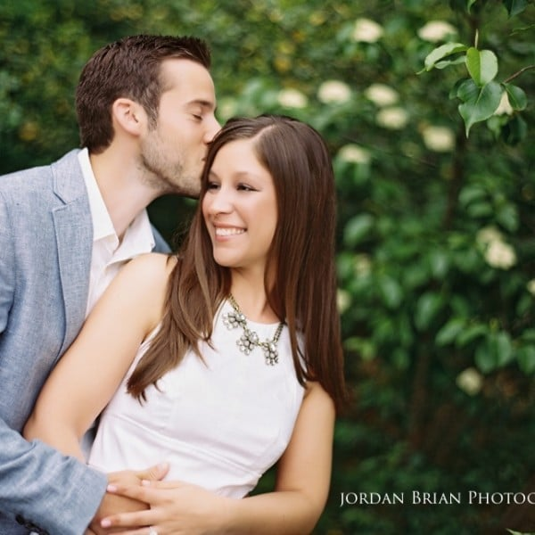 Modern Engagement Session at Historic Smithville Park - Justine & Chris