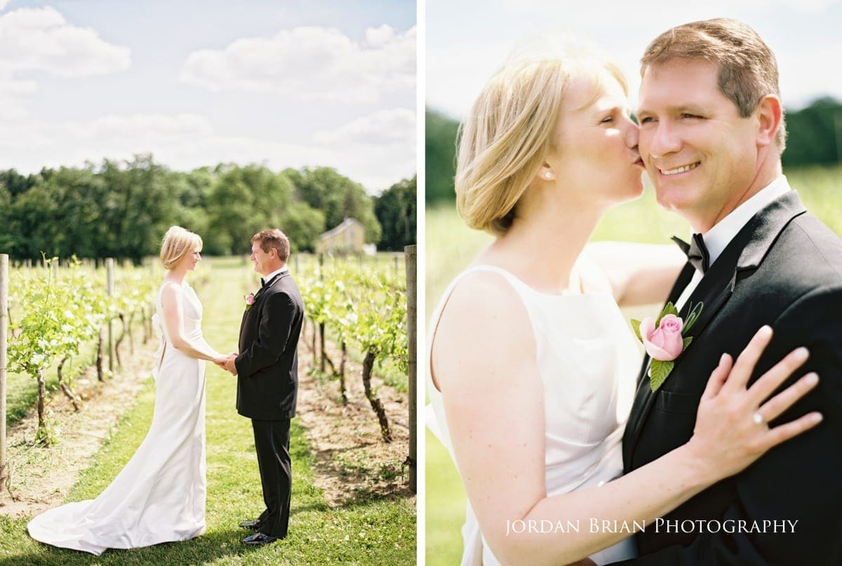 valenzano winery wedding photographs