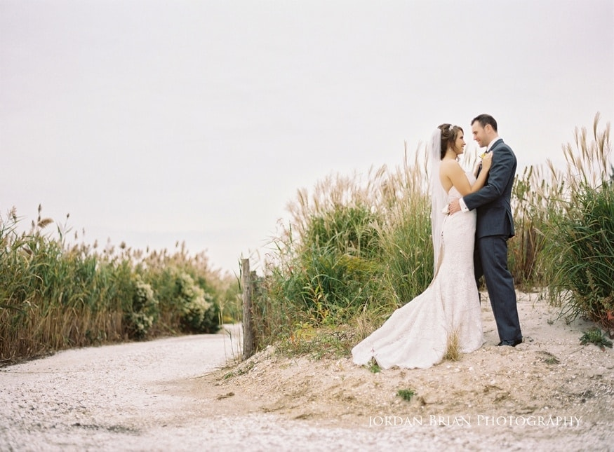 Bonnet Island Estate bride and groom photograph