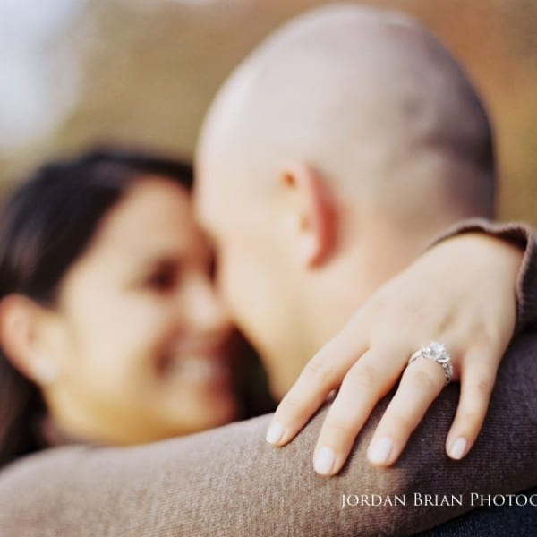Fall Engagement Session at Smithville Park - Alicia & Marc