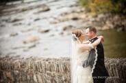 fall wedding photos at hotel dupont