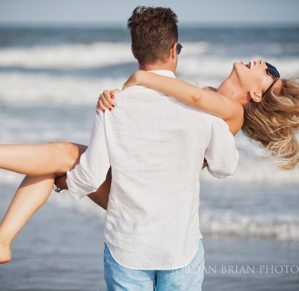 Ventnor beach Engagement photos - Simona & Brandon