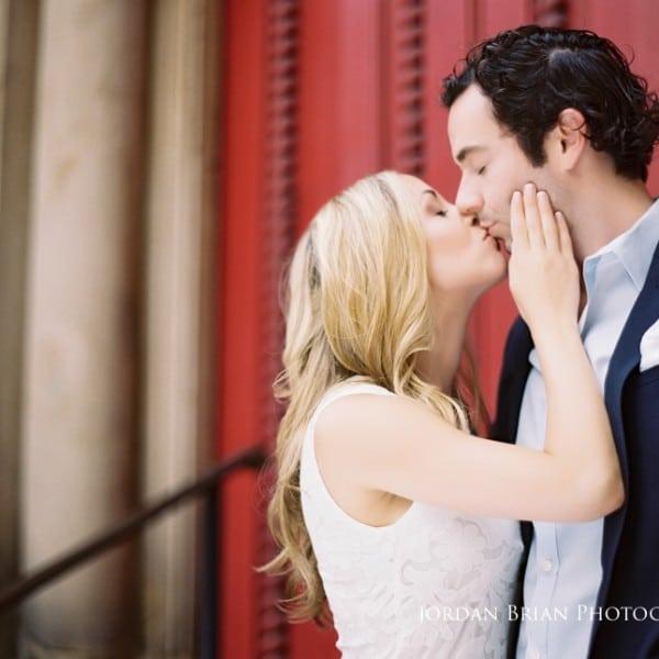 Rittenhouse Square Engagement Photos - Rebecca & Nick