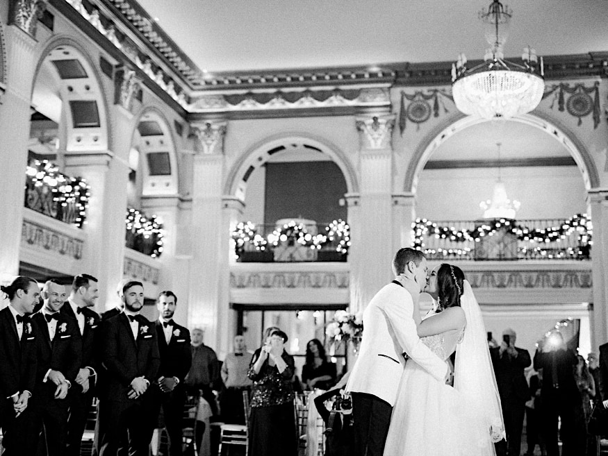 Ballroom at the Ben wedding first dance