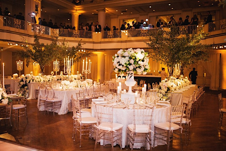 bellevue wedding reception room