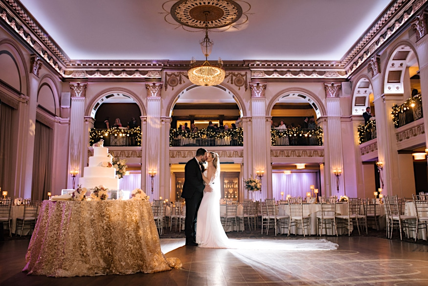 best Philadelphia wedding venue ballroom at the ben