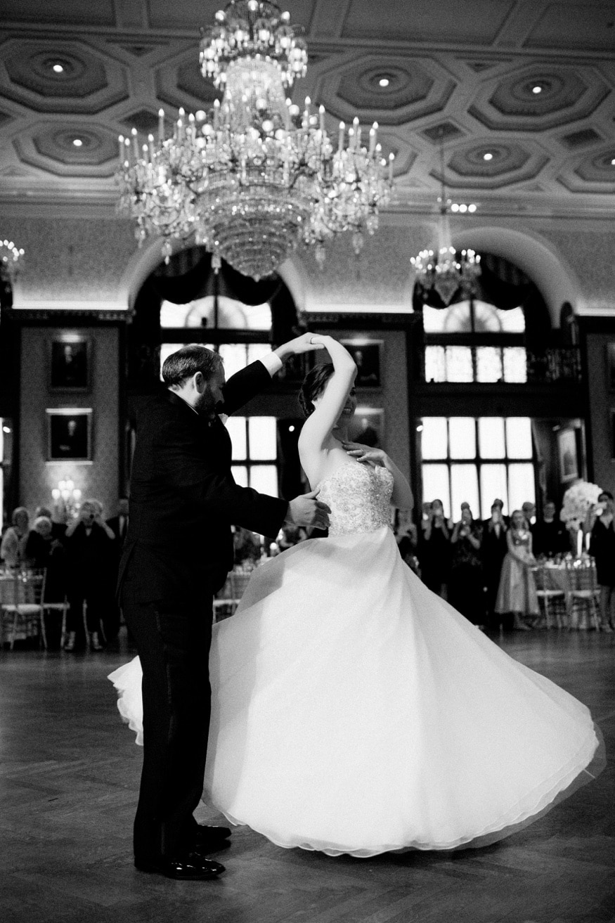 Union League Wedding first dance