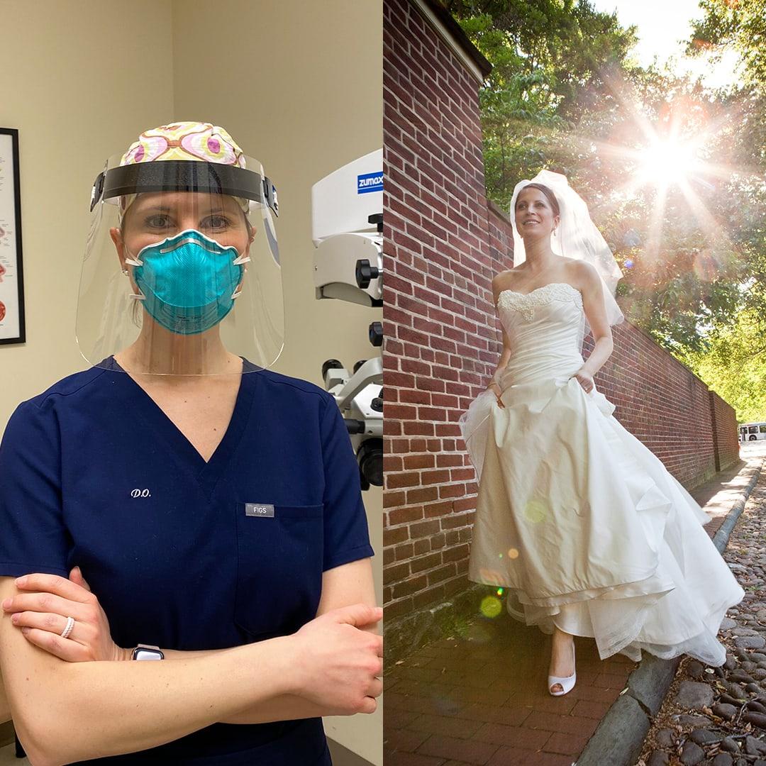 philadelphia bride nurse covad-19 Kelli