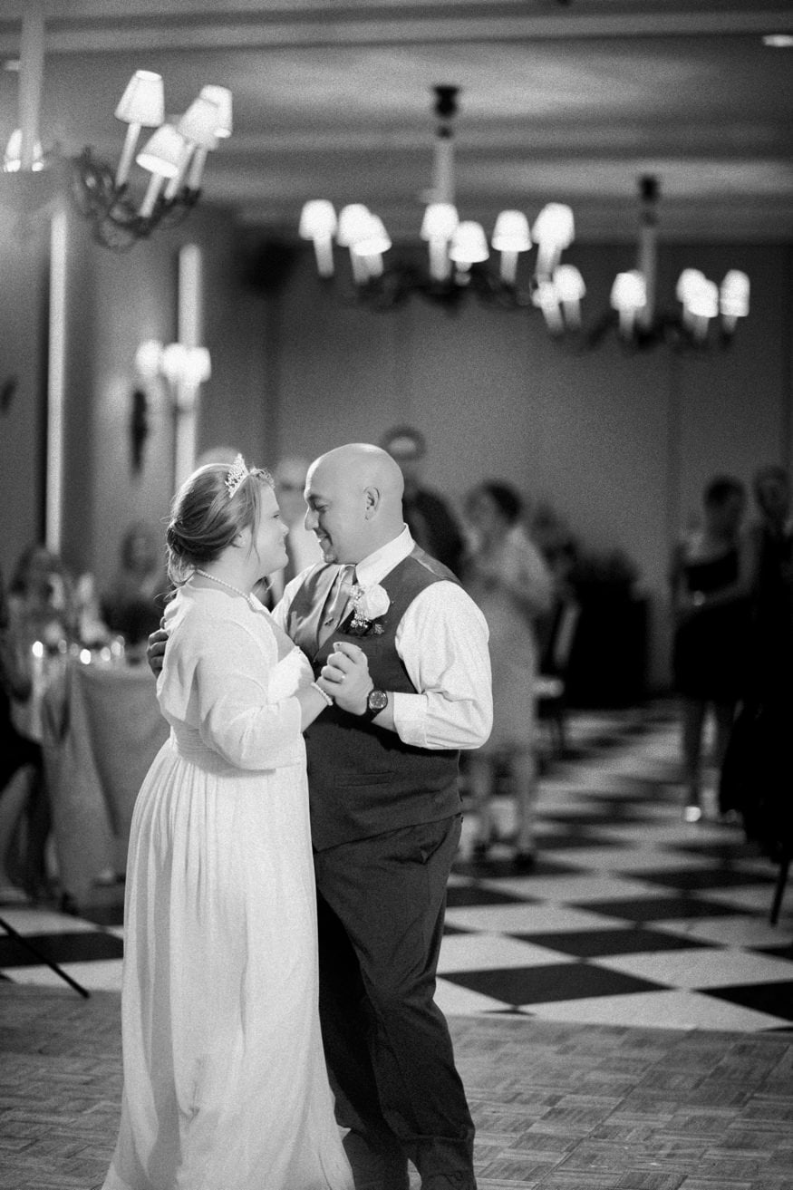 New Jersey Shore Wedding Venue Congress Hall first dance wedding