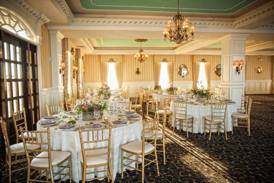 Best Wedding Venues Mallard Island Estate wedding reception room By Jordan Brian Studios