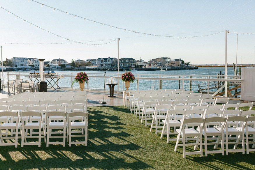 Best Jersey Wedding Venue Reeds Shelter Haven Stone Harbor Ceremony views