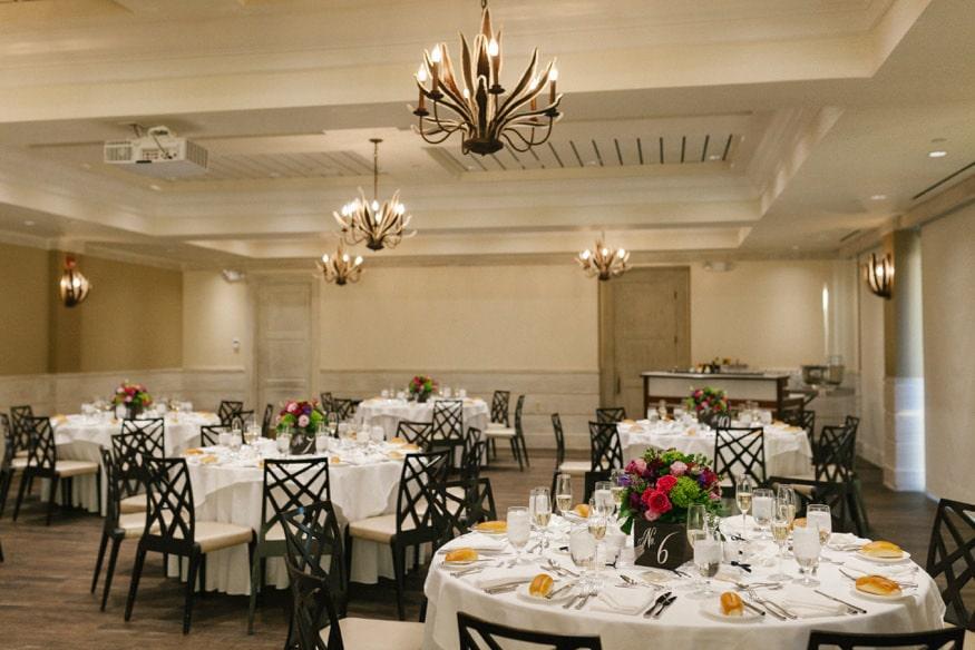 Best Jersey Wedding Venue Reeds Shelter Haven Stone Harbor wedding reception setup