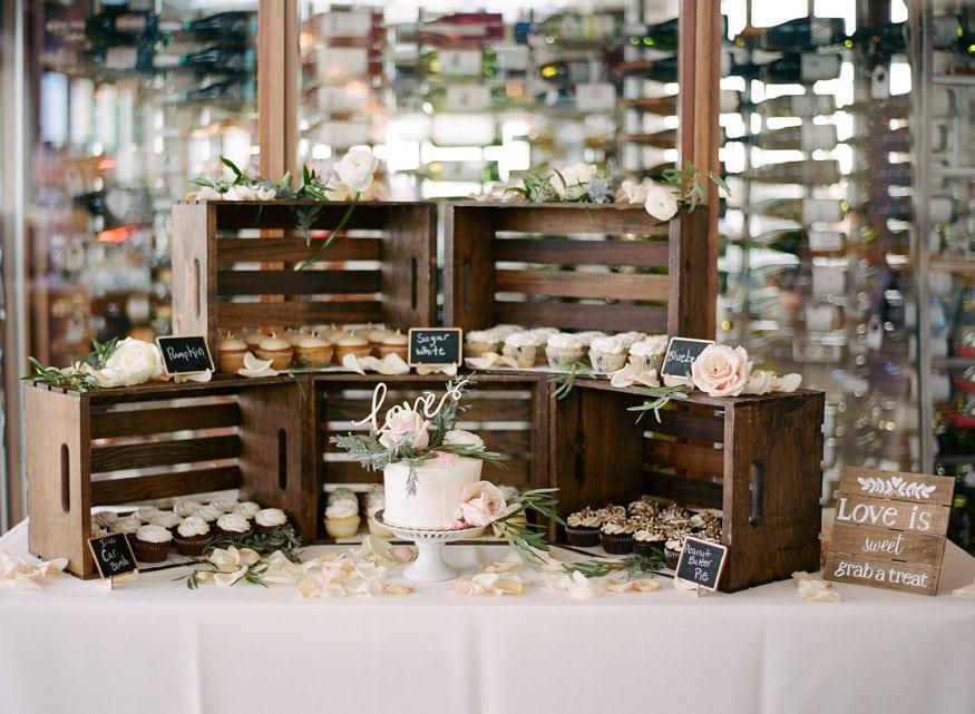 Best Jersey shore wedding venue Windrift Avalon wedding dessert setup