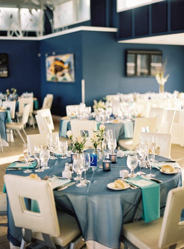 Best Jersey shore wedding venue Windrift Avalon reception table detail