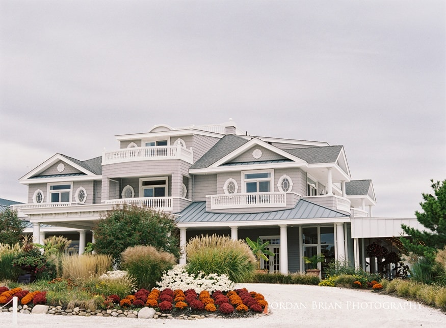 best Jersey Shore wedding venues Bonnet Island entrance