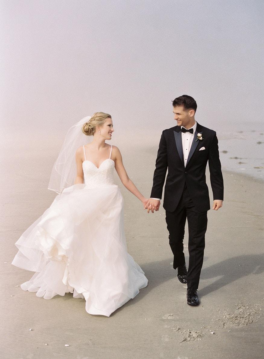 Jersey Wedding venue Icona Avalon bride beach portrait
