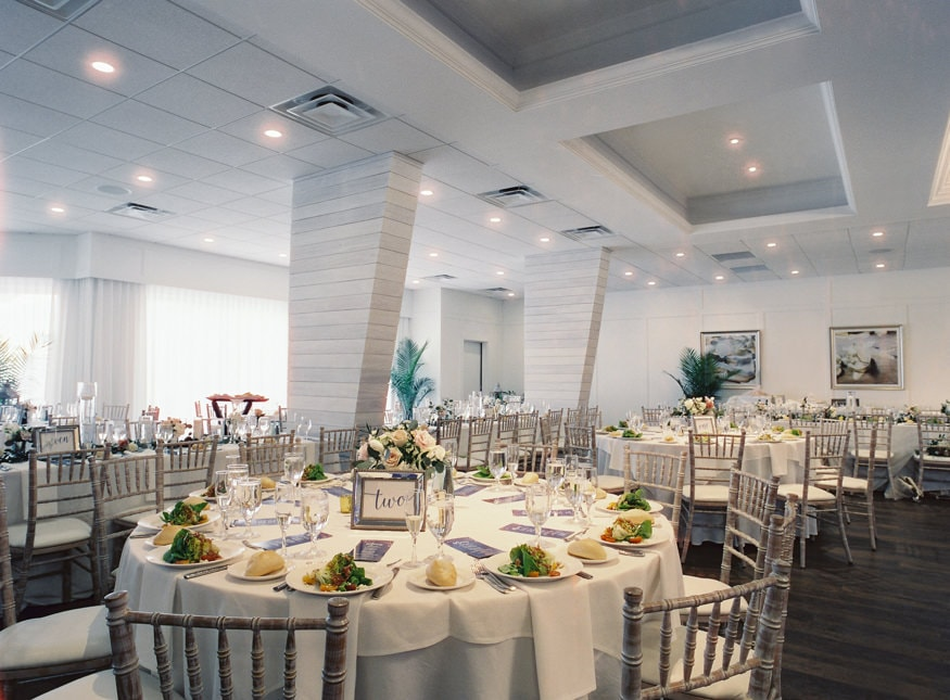 Jersey Wedding venue Icona Avalon reception setup